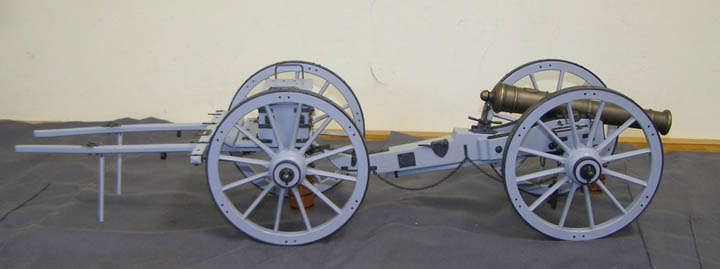 Napoleonic Field Gun and Limber