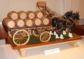 1/8th scale Young & Co Brewers Dray