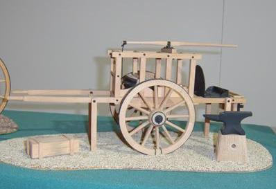 British Army Travelling Forge