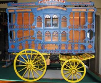 1/6th scale model of John Thompson's Brush Waggon