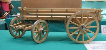 Dutch Military Waggon, circa 1860