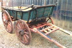 Cornish Waggon, now housed at at The Museum of English Rural Life, Reading.